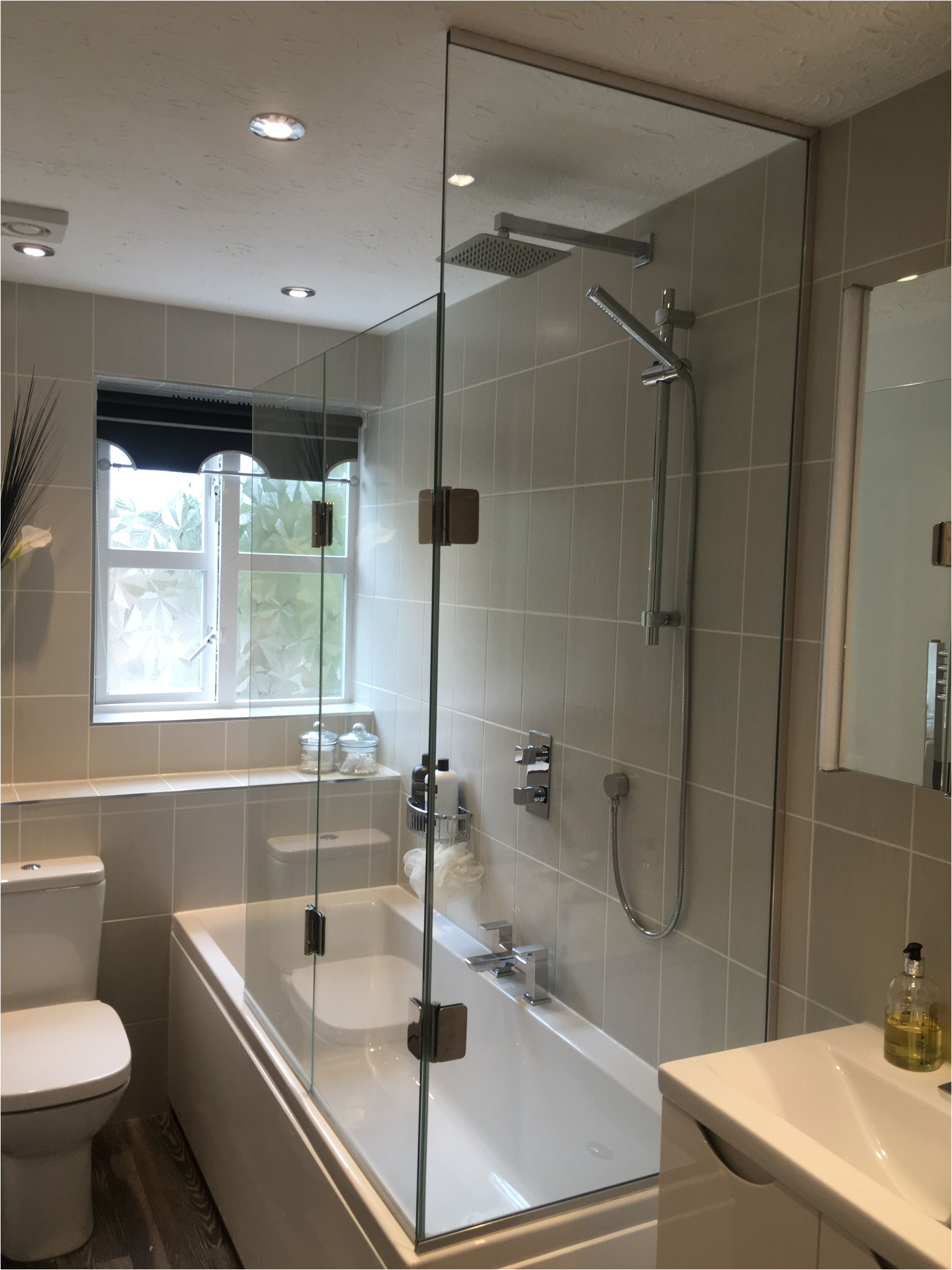 2 Way Mirror In Bathroom Best Of 2 Sided Bath Shower Screen with Fixed Panel to End
