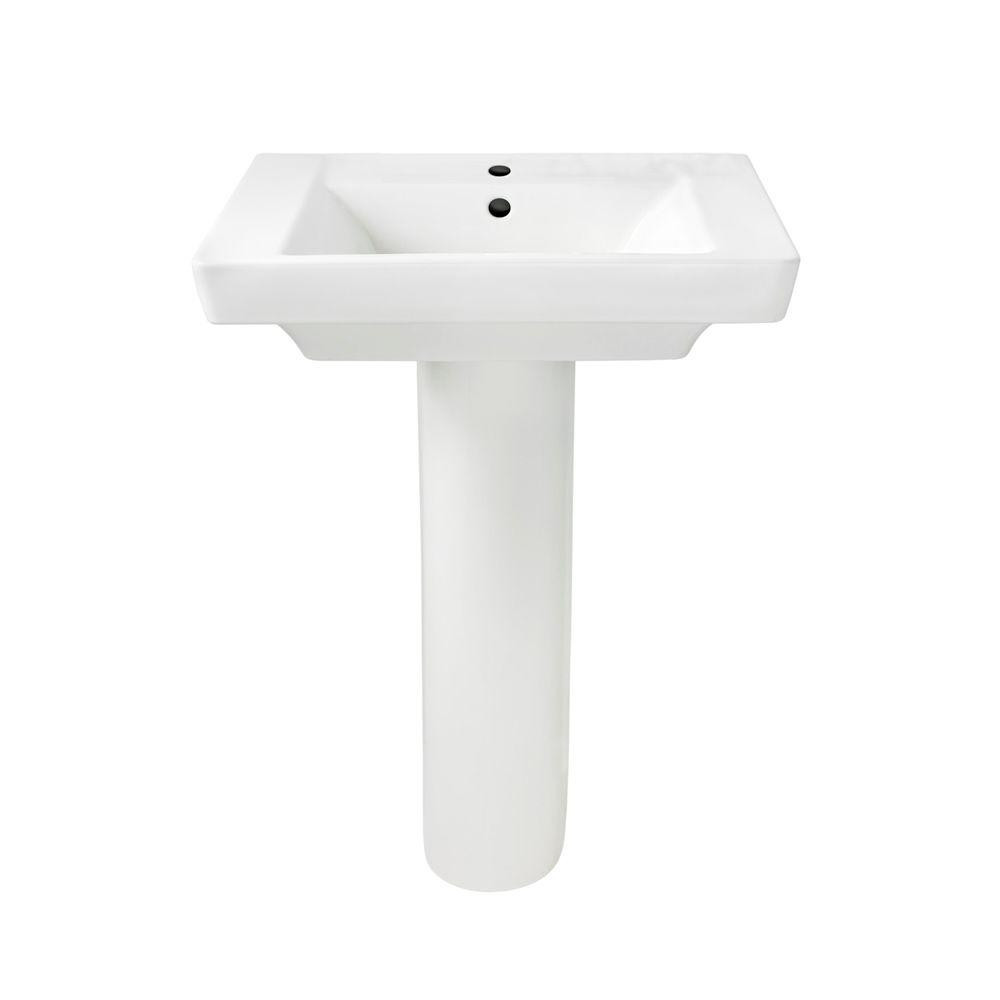 Above the Counter Bathroom Sinks Fresh American Standard Boulevard Pedestal Bo Bathroom Sink In White