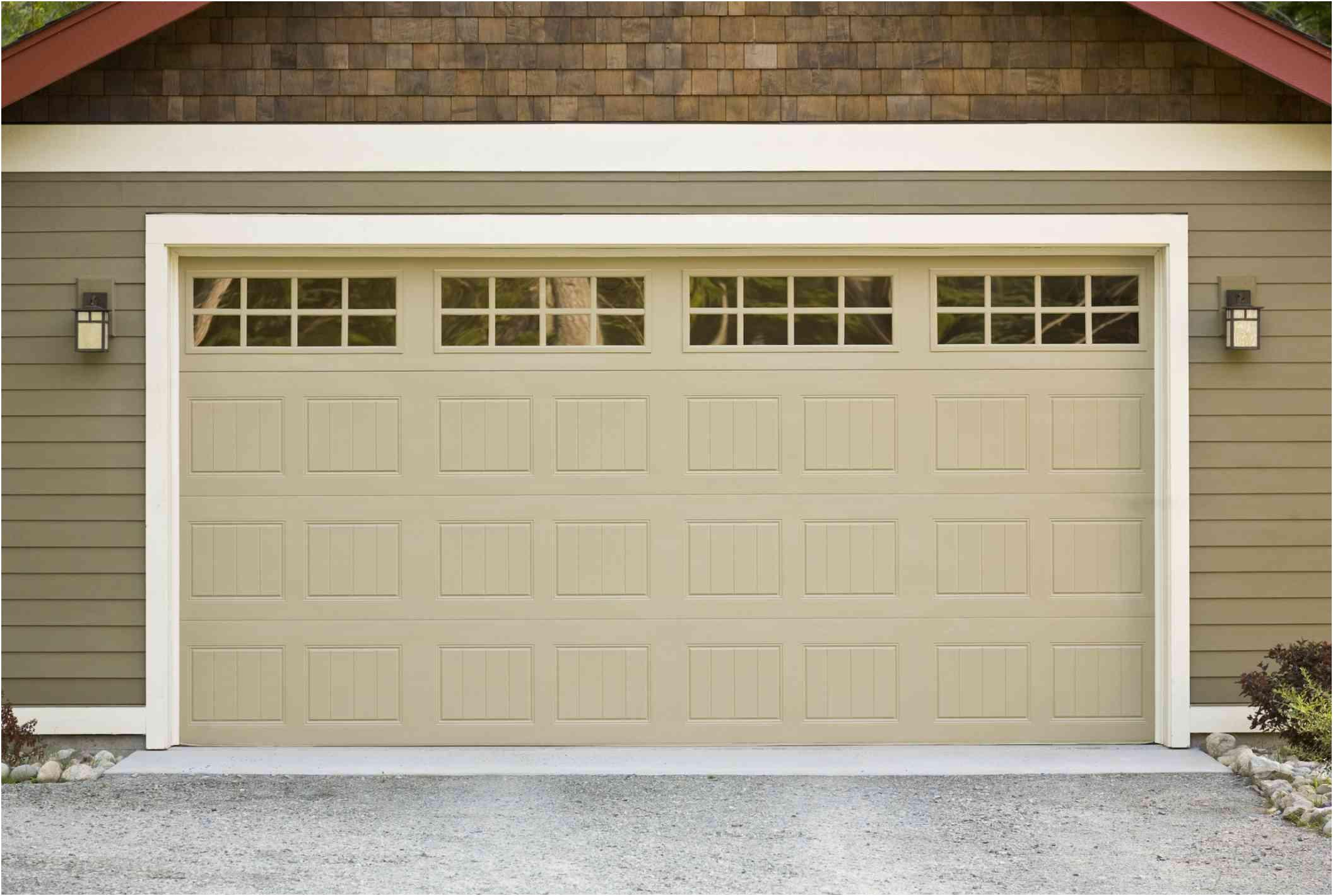Fresh Average Size Of A Garage Door
