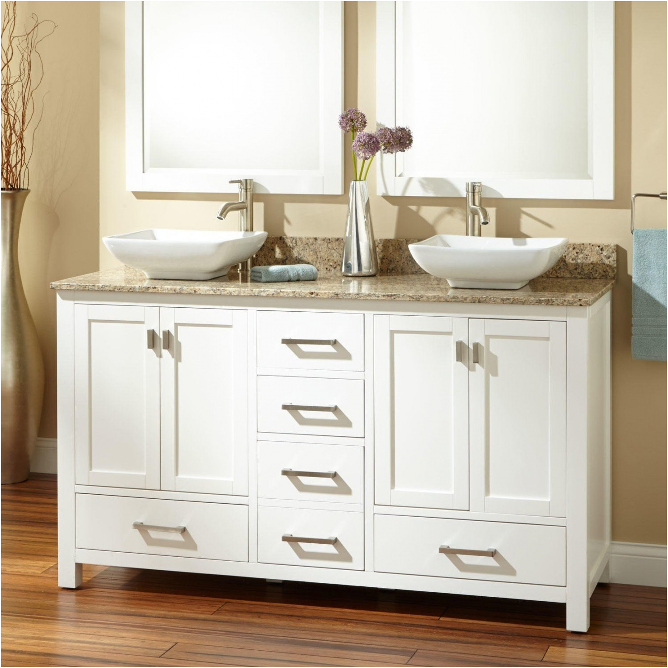 Awesome Bathroom Cabinets for Bowl Sinks