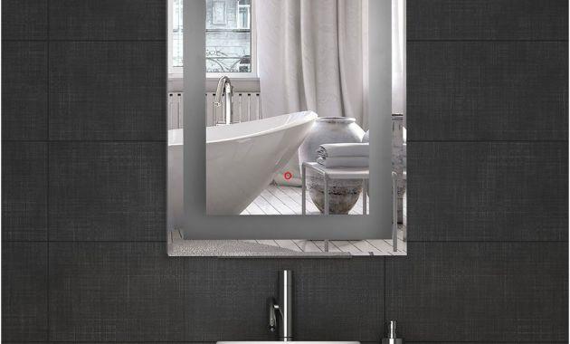Bathroom Wall Mirrors No Frame Inspirational Amazon Decoraport Vertical Rectangle Led Bathroom Mirror