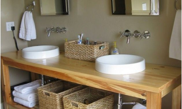 Double Sink Basin for Bathrooms Best Of Modern Bathroom Vanity Building Plans with Double Vanity Undermount