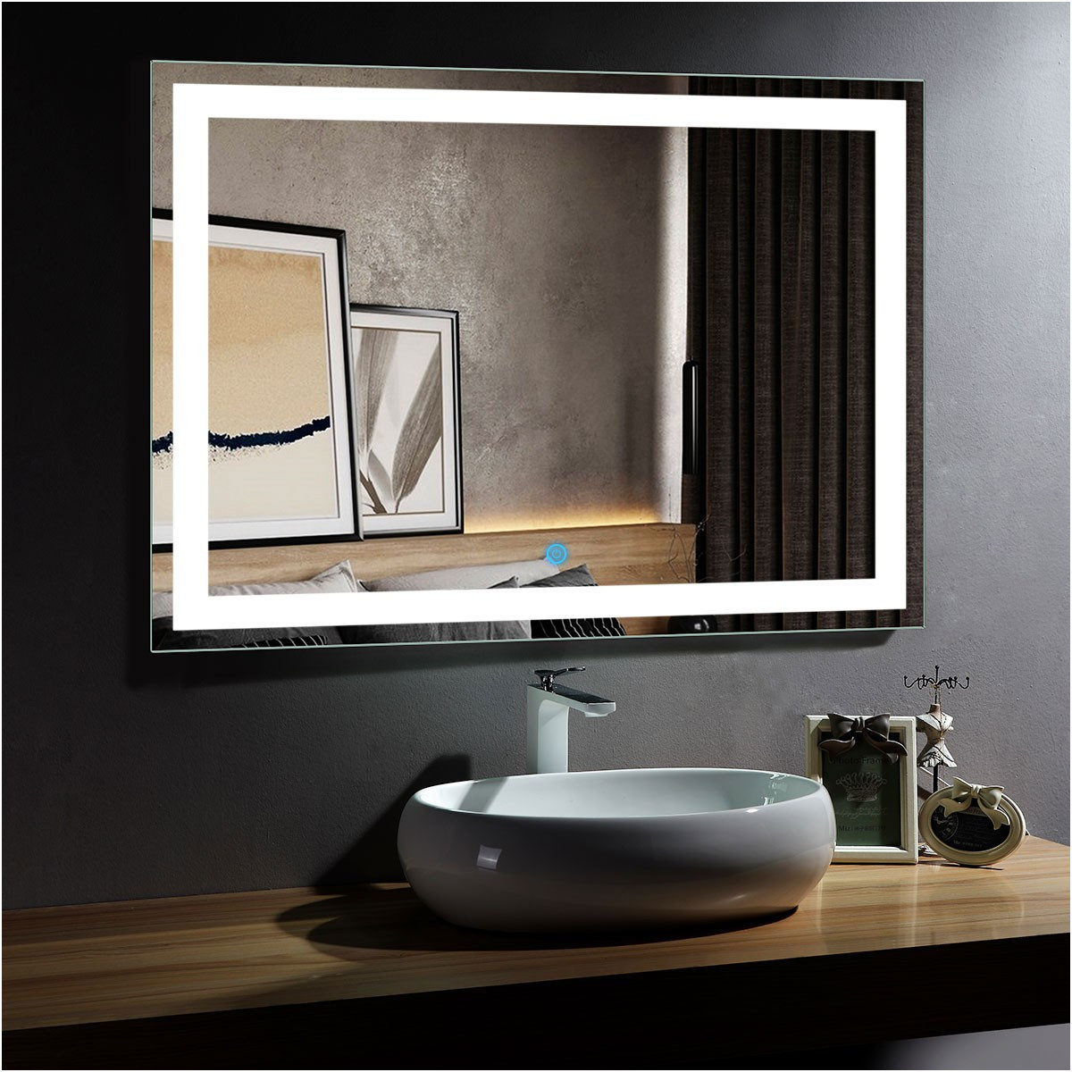 Inspirational Easy Way to Frame Bathroom Mirror