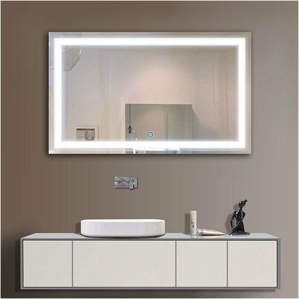 "Ebay Bathroom Mirrors with Lights Elegant Led Bathroom Mirror 40""x24"" Illuminated Lighted Vanity Wall"