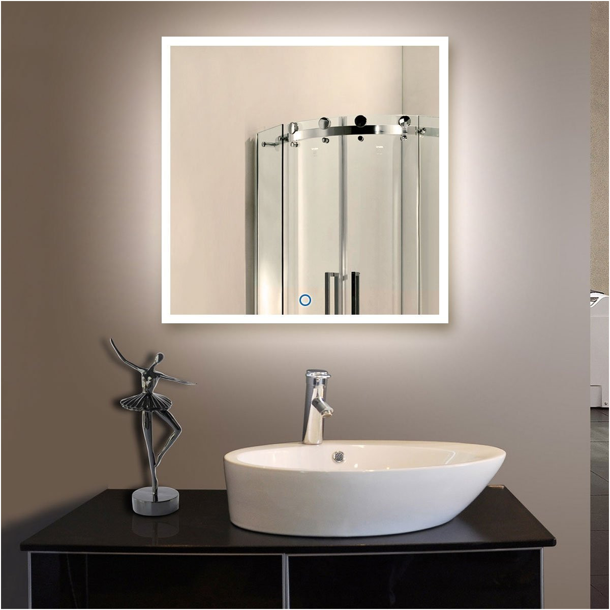New Illuminated Bathroom Mirrors with Bluetooth