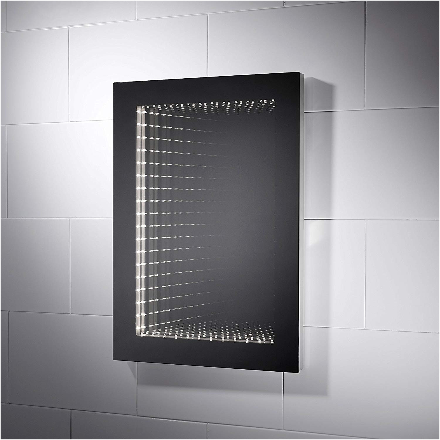 Lovely Infinity Bathroom Mirrors with Lights