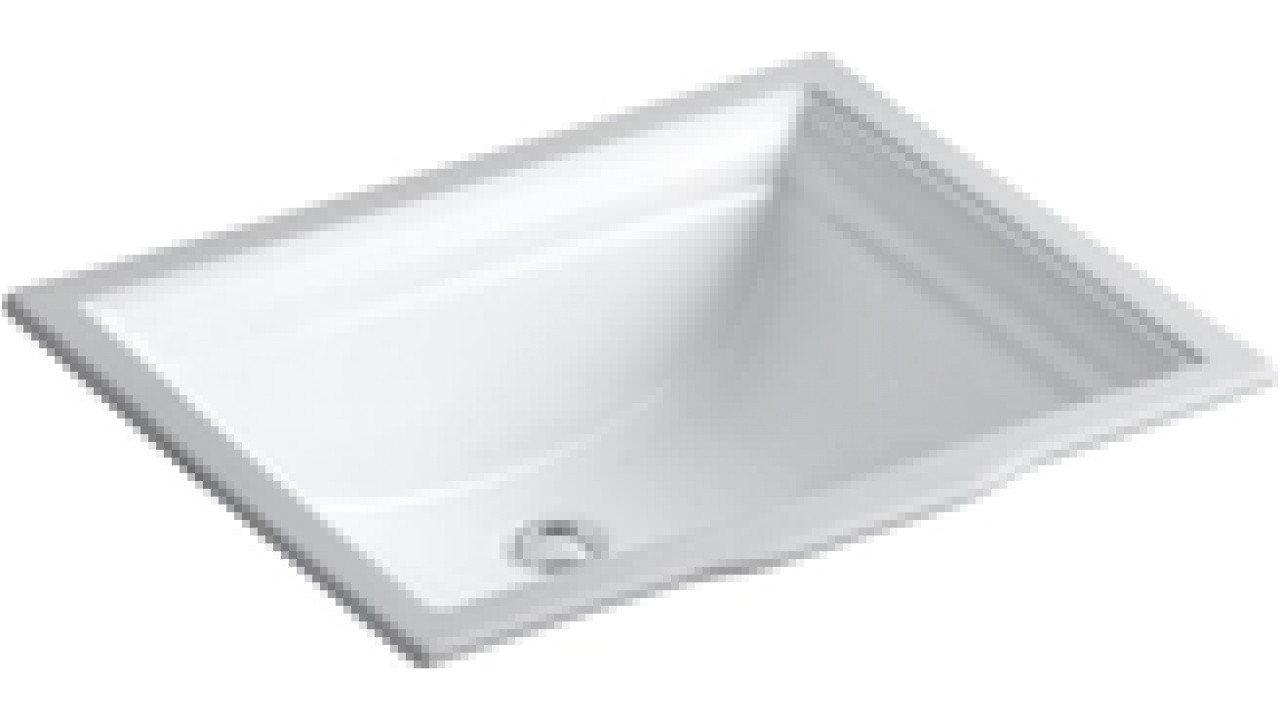Fresh Kohler K 2339 0 Memoirs Undercounter Bathroom Sink White