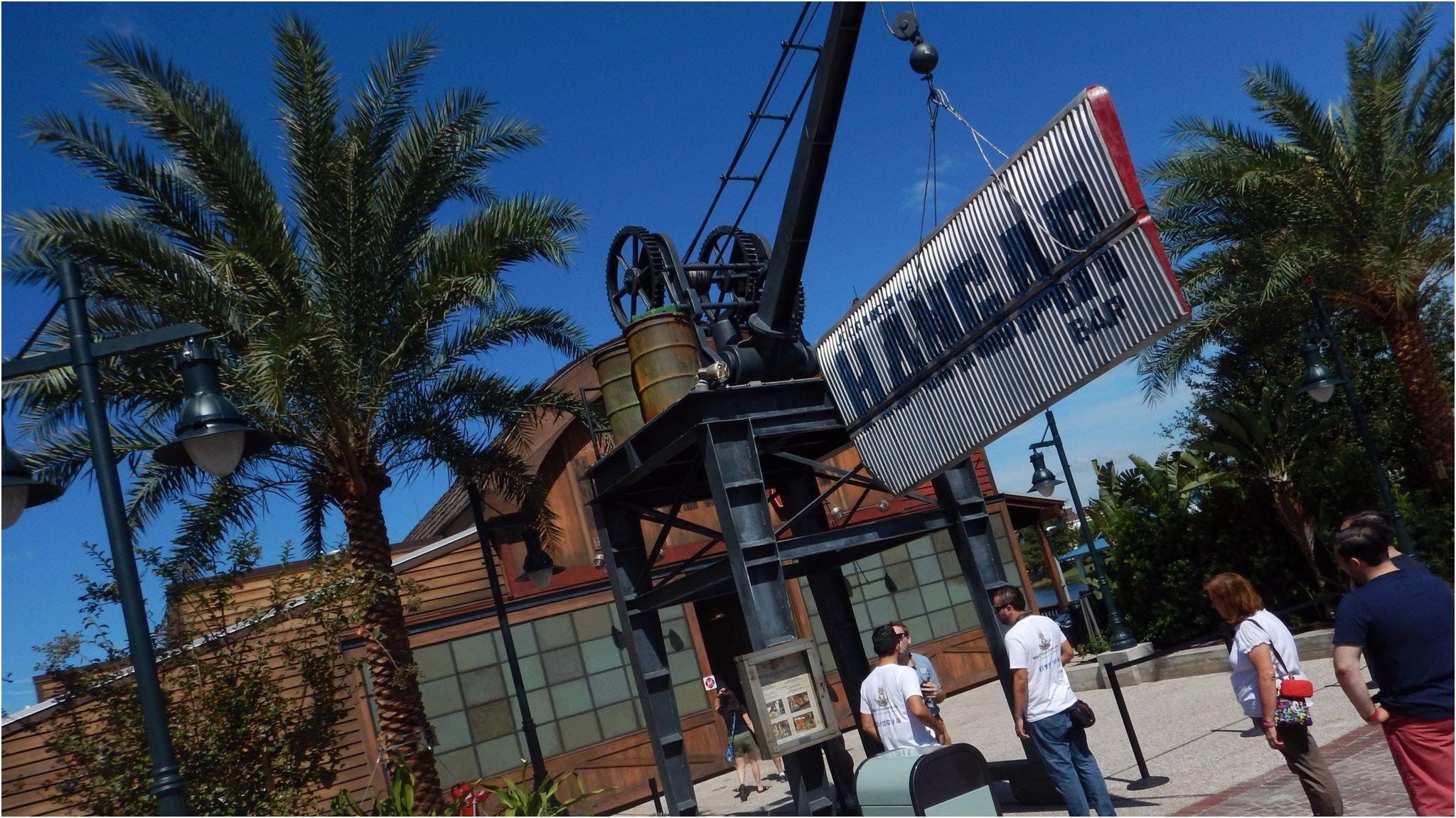 Elegant Lime Garage Disney Springs