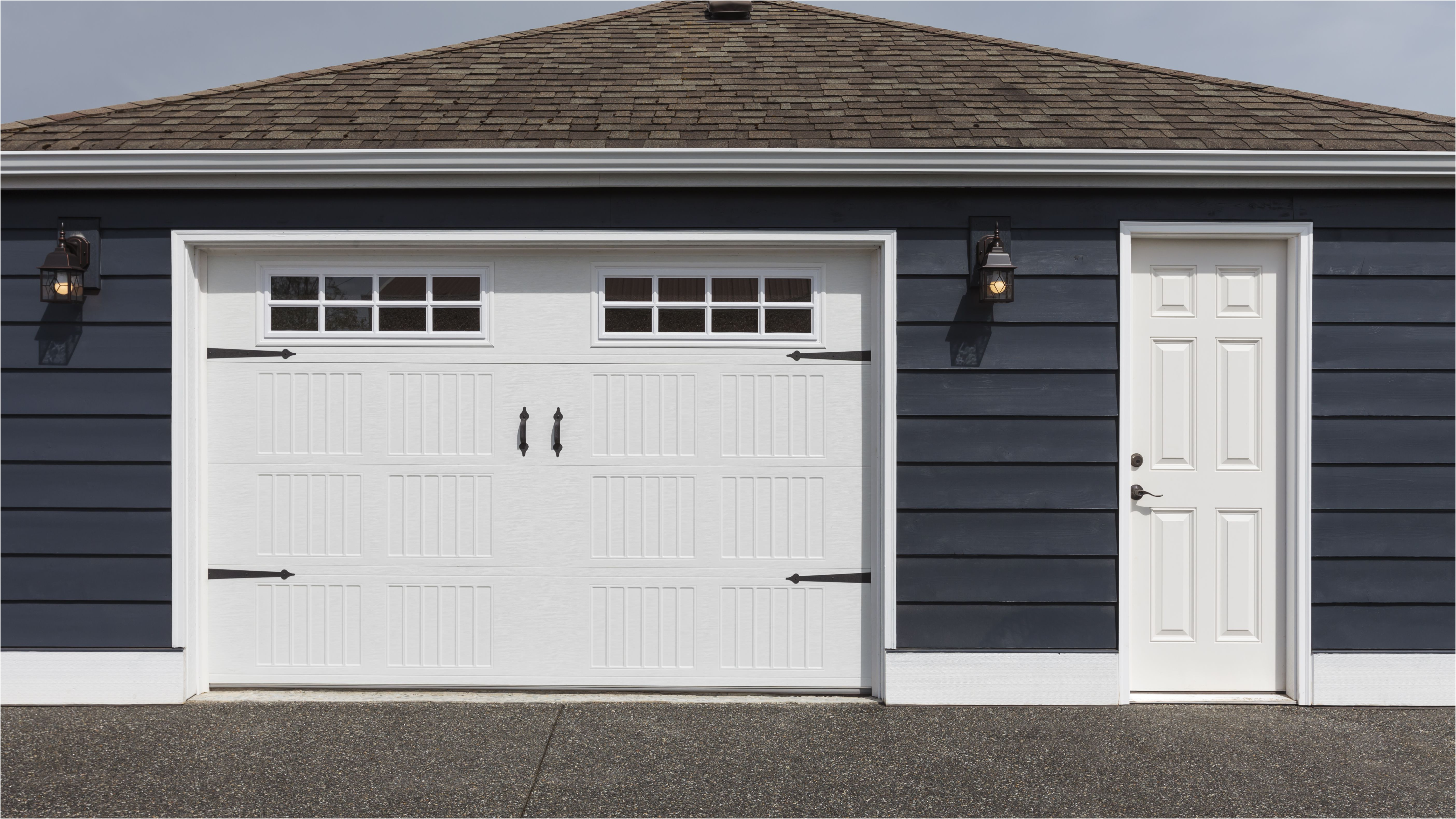 Beautiful Machine Shed Garage Doors