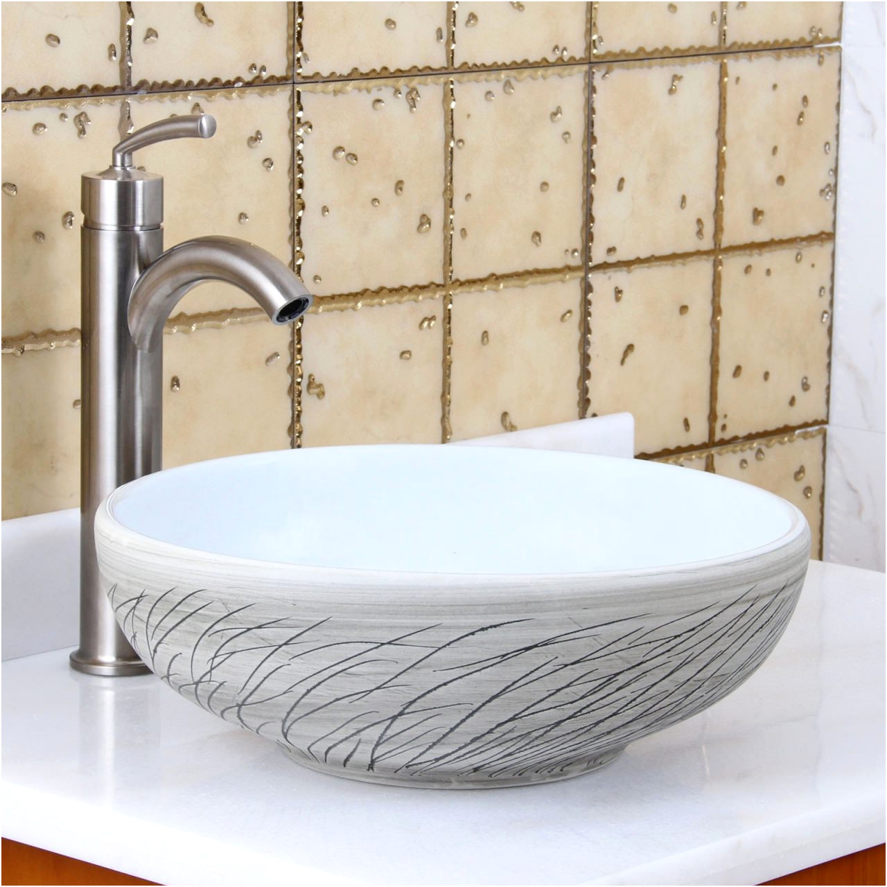 Beautiful Mosaic Sinks for Bathrooms
