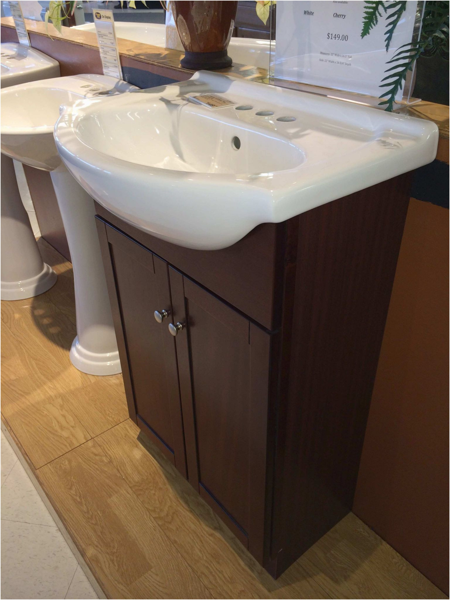 Lovely Sinks with Cabinets for Small Bathrooms