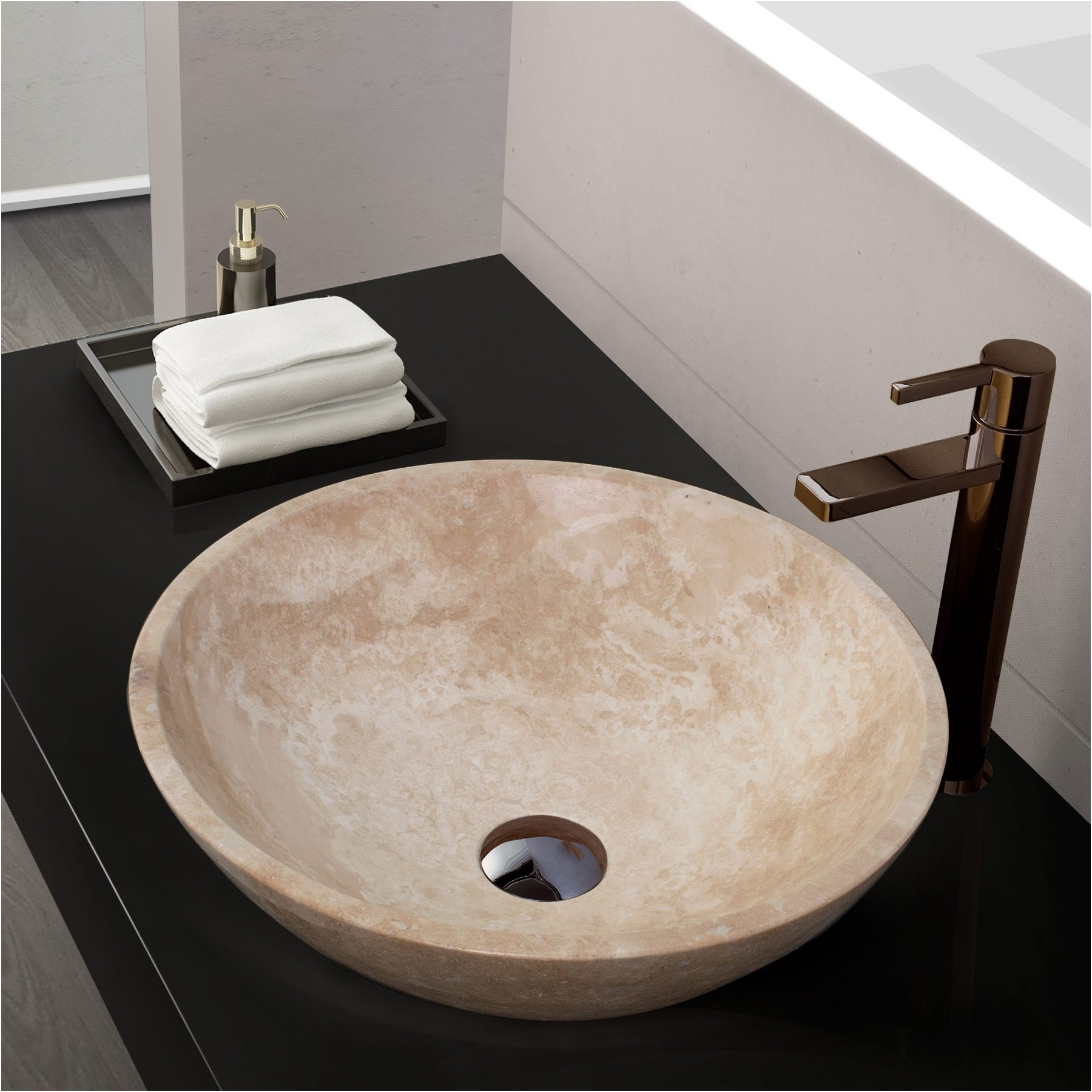 Elegant Stone Bathroom Sinks Clearance