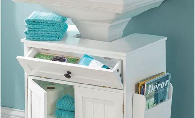 Storage Ideas for Bathroom with Pedestal Sink Inspirational the Pedestal Sink Storage Cabinet Furniture