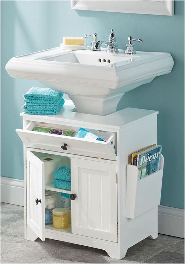 Storage Ideas for Bathroom with Pedestal Sink Inspirational the Pedestal Sink Storage Cabinet Furniture