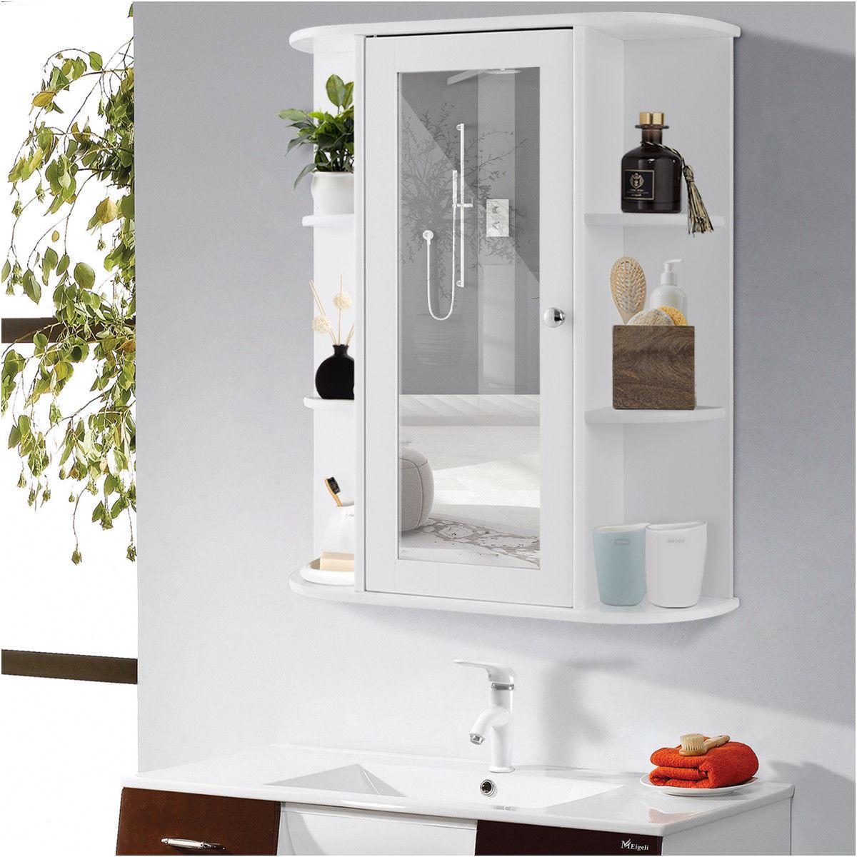 Best Of Three Door Mirrored Bathroom Cabinet