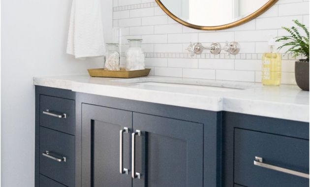Three Door Mirrored Bathroom Cabinet Luxury Windsong tour Basement Pt 1 Studio Mcgee Portfolio
