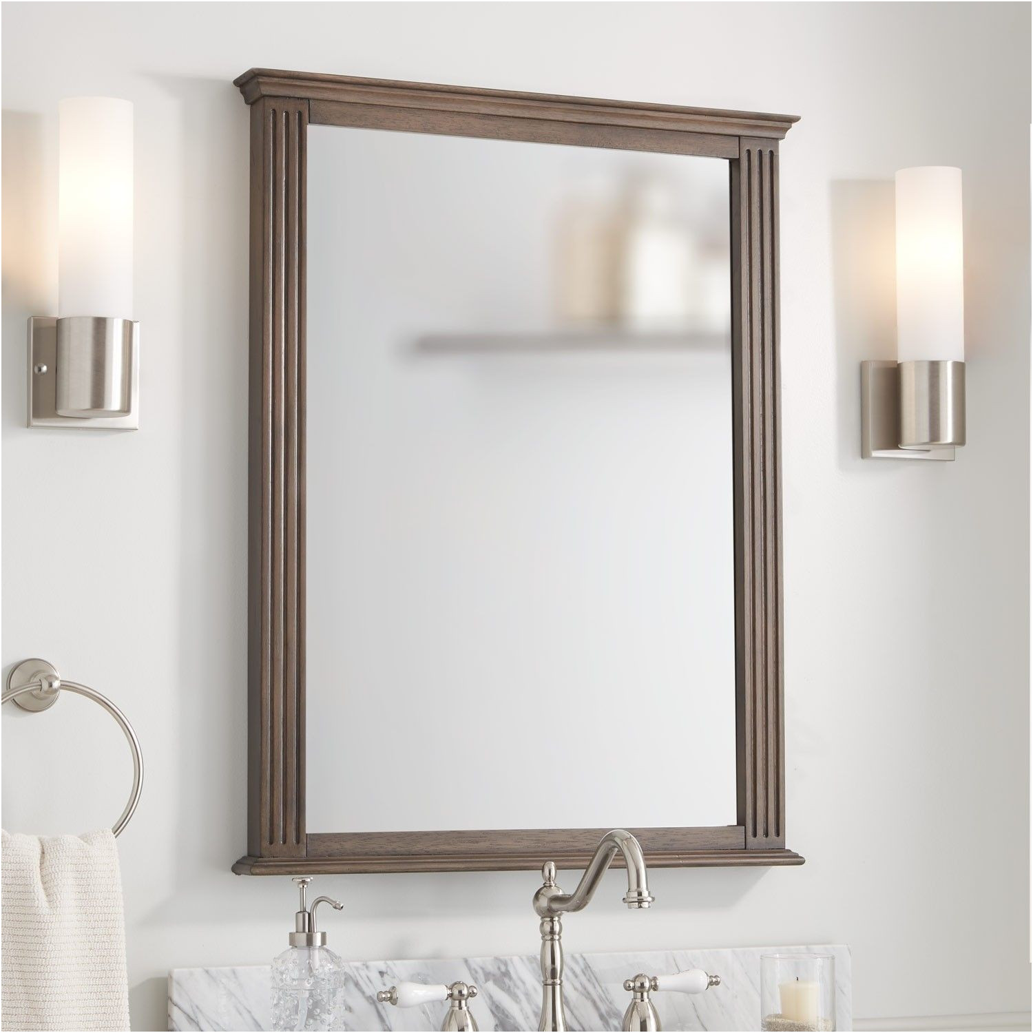 "Tilt Mirrors for Bathroom Rectangular Fresh 24"" Helsinki Rectangular Tilting Mirror Bathroom Mirrors"