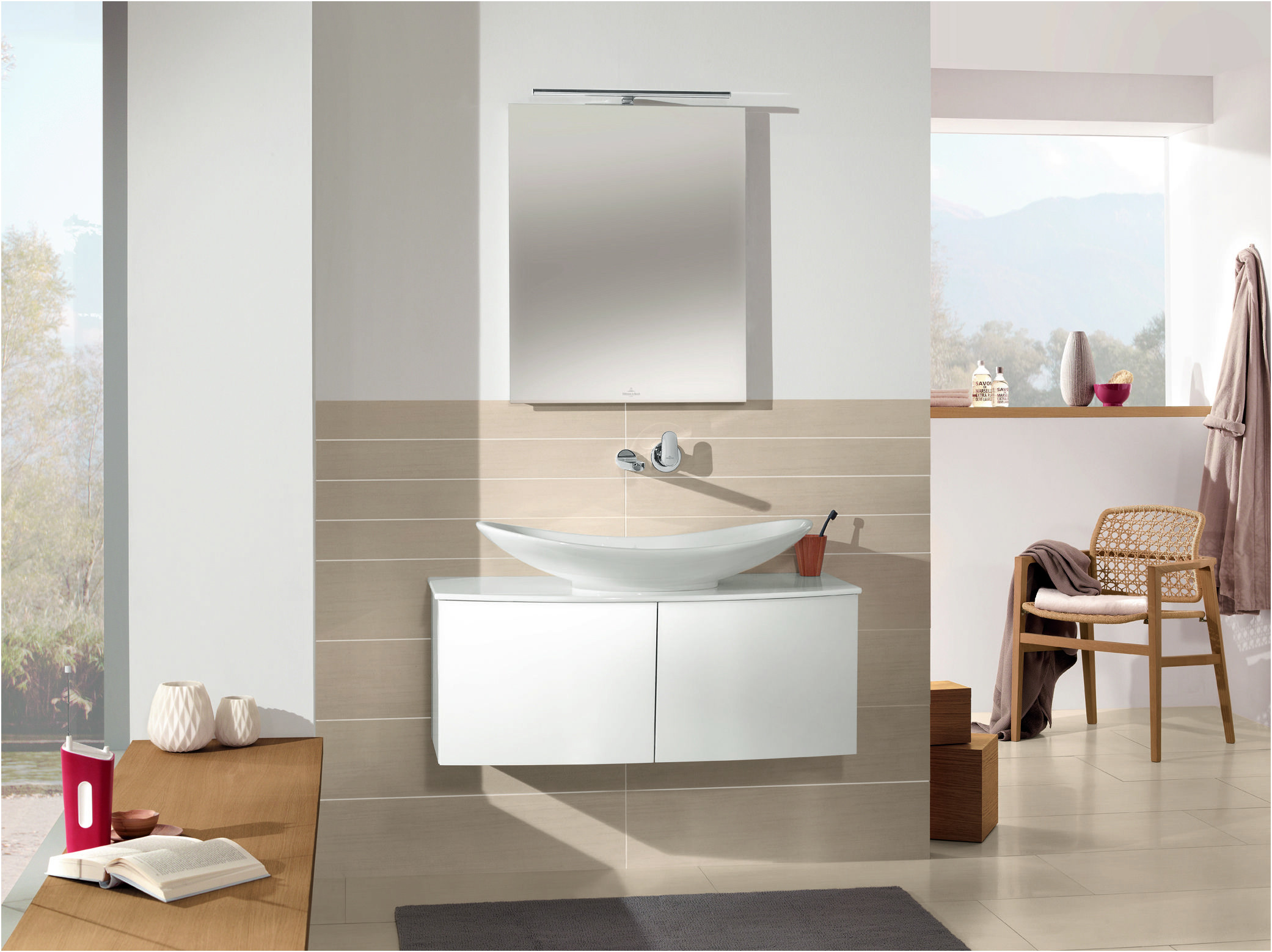 Villeroy and Boch Bathroom Mirrors Awesome the My Nature Bath Collection From Villeroy & Boch is Characterised