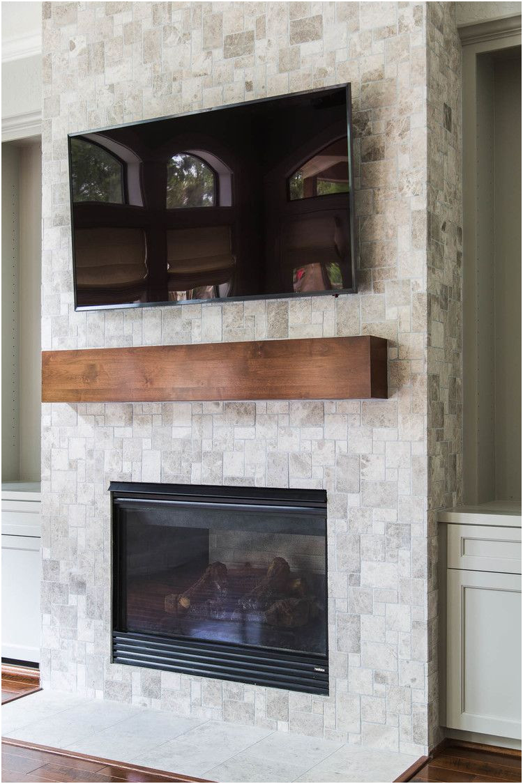 New Fireplace Remodels before and after