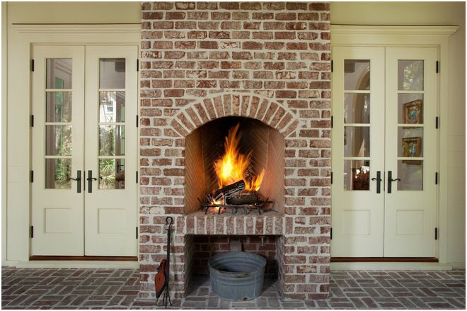 Remodeling Brick Fireplace Best Of Traditional Porch by Thomas Thaddeus Truett Architect