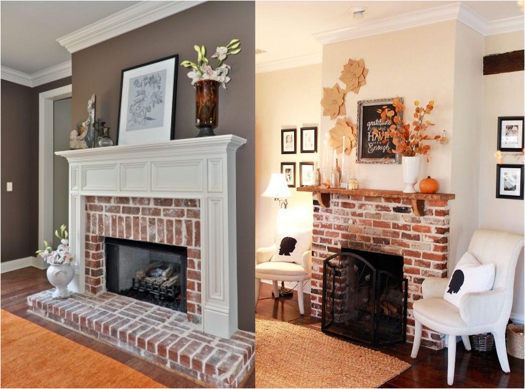Beautiful Brick Fireplace Ideas