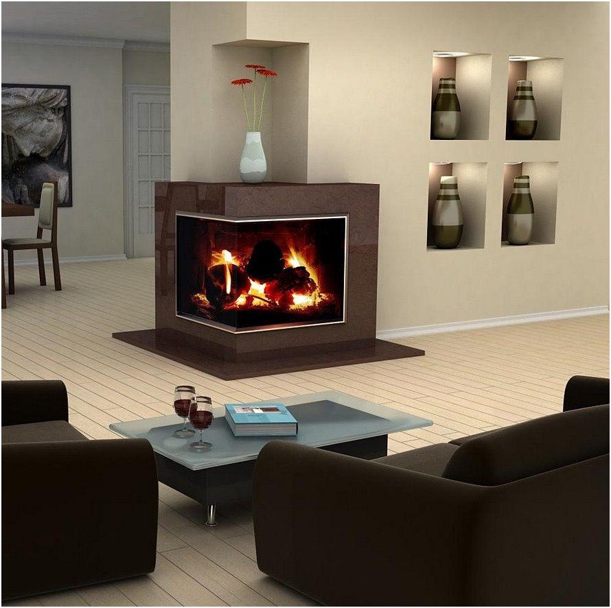 New Corner Fireplace Ideas