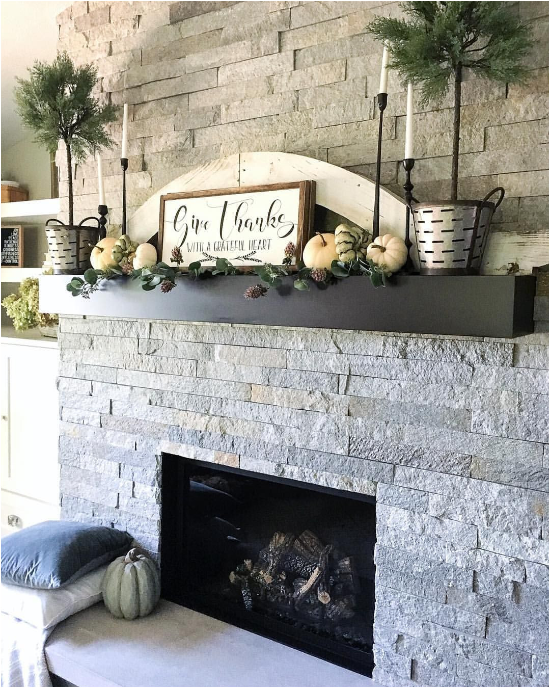 Inspirational Decorating Fireplace Mantels Ideas