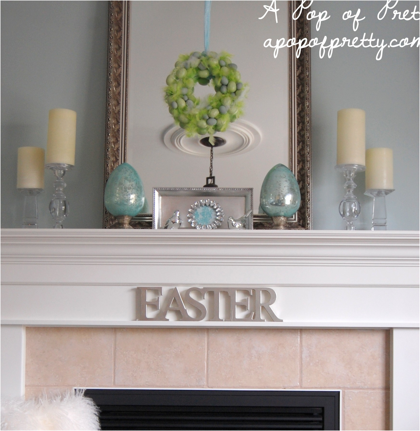 Decorative Ideas for Fireplace Mantels Fresh Easter Decorating Ideas Decorate A Simple Easter Mantel