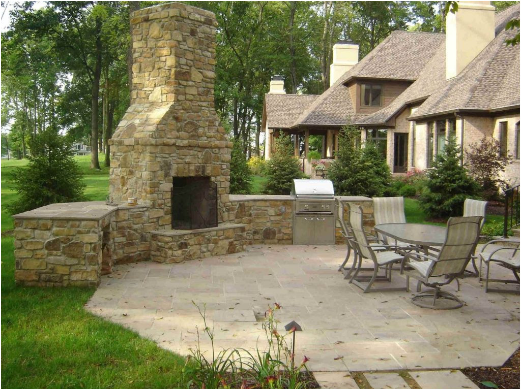 New Design Outdoor Fireplace