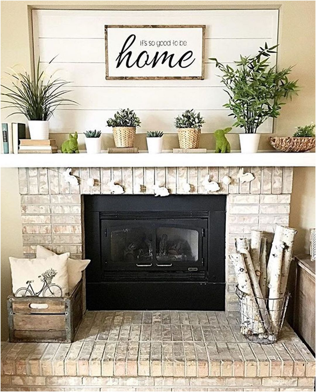 Awesome Fireplace Decorating Ideas Photos