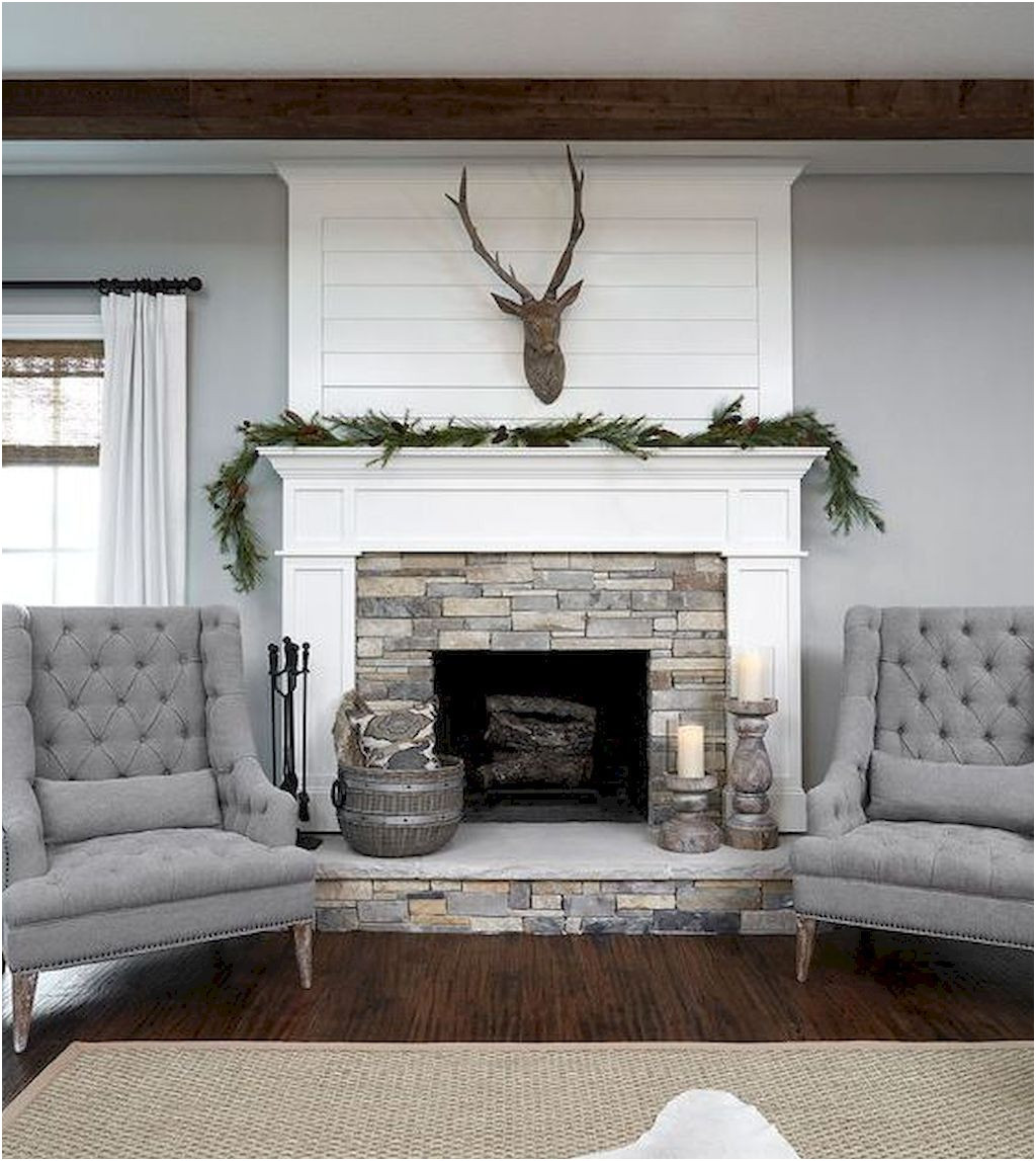 Fresh Fireplace Ideas with Stone