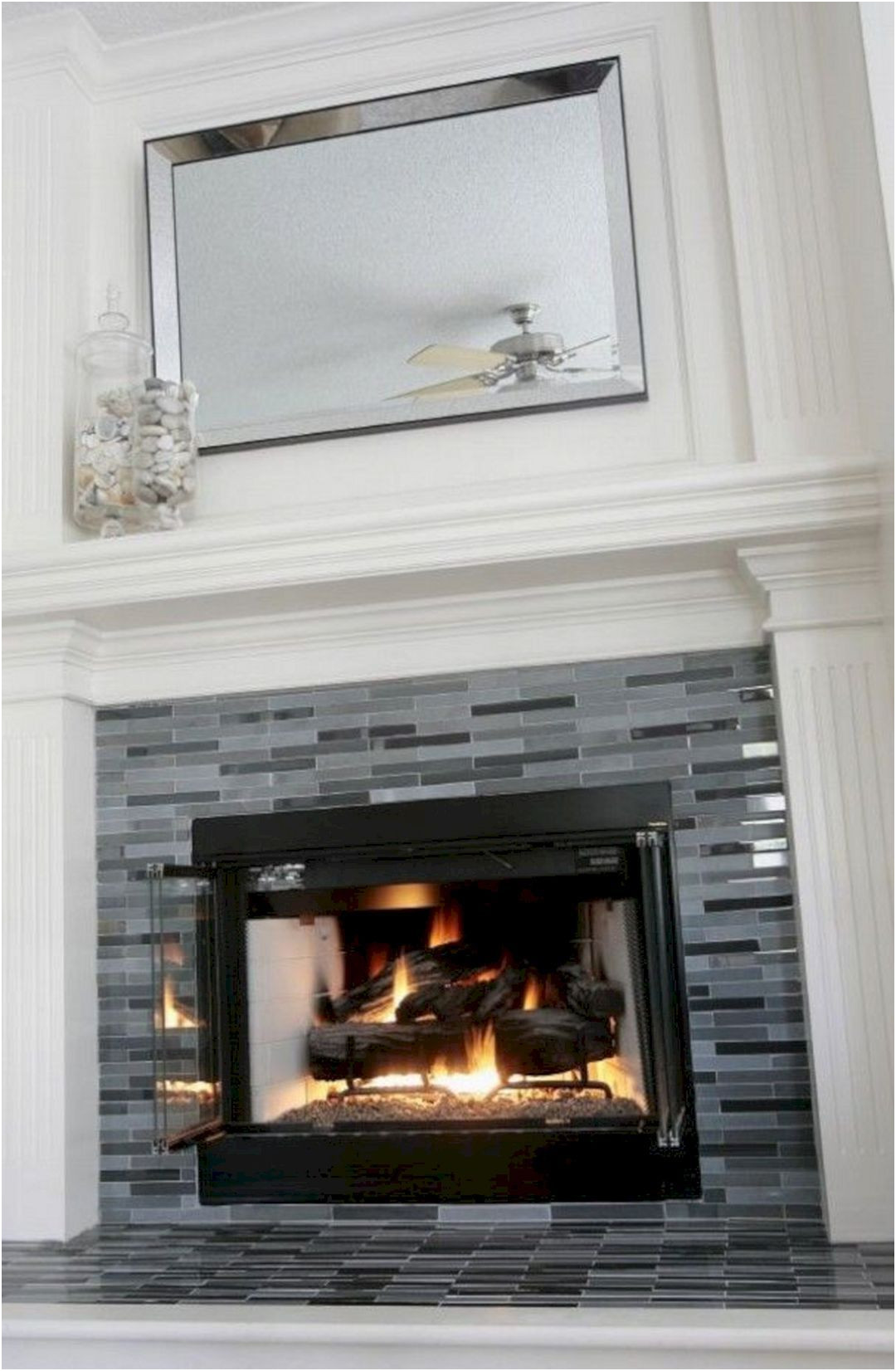 Elegant Fireplace Ideas with Tile