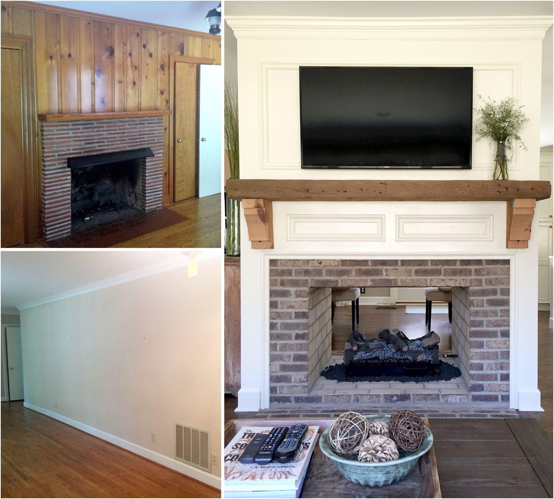Fireplace Remodel Inspirational Fireplace Renovation Converting A Single Sided Fireplace to