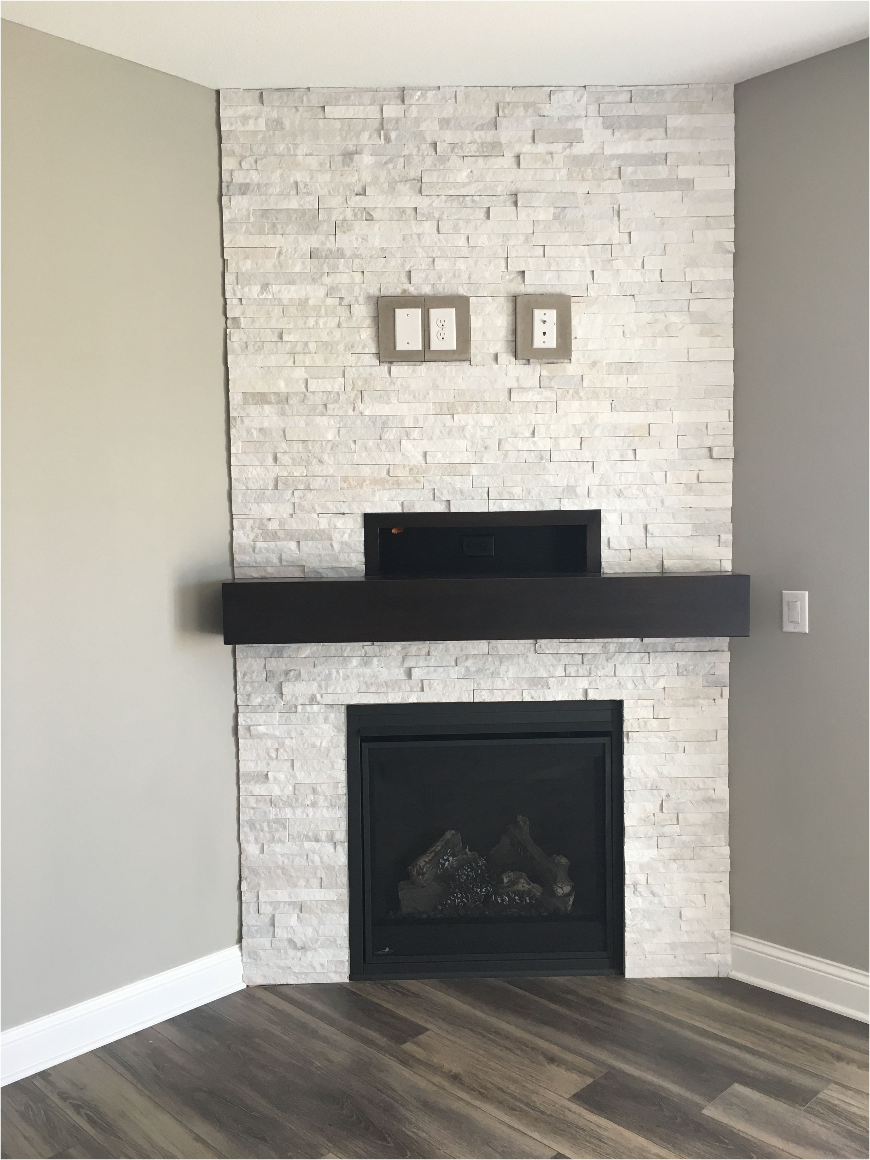 Fireplace Stacked Stone Ideas Awesome Pin On Fireplace Ideas We Love