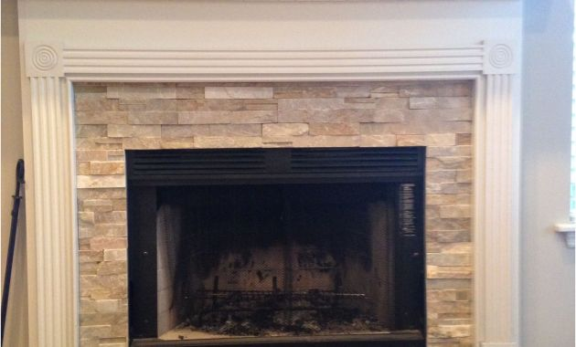 Fireplace Surround Tile Ideas Inspirational Fireplace Idea Mantel Wainscoting Design Craftsman