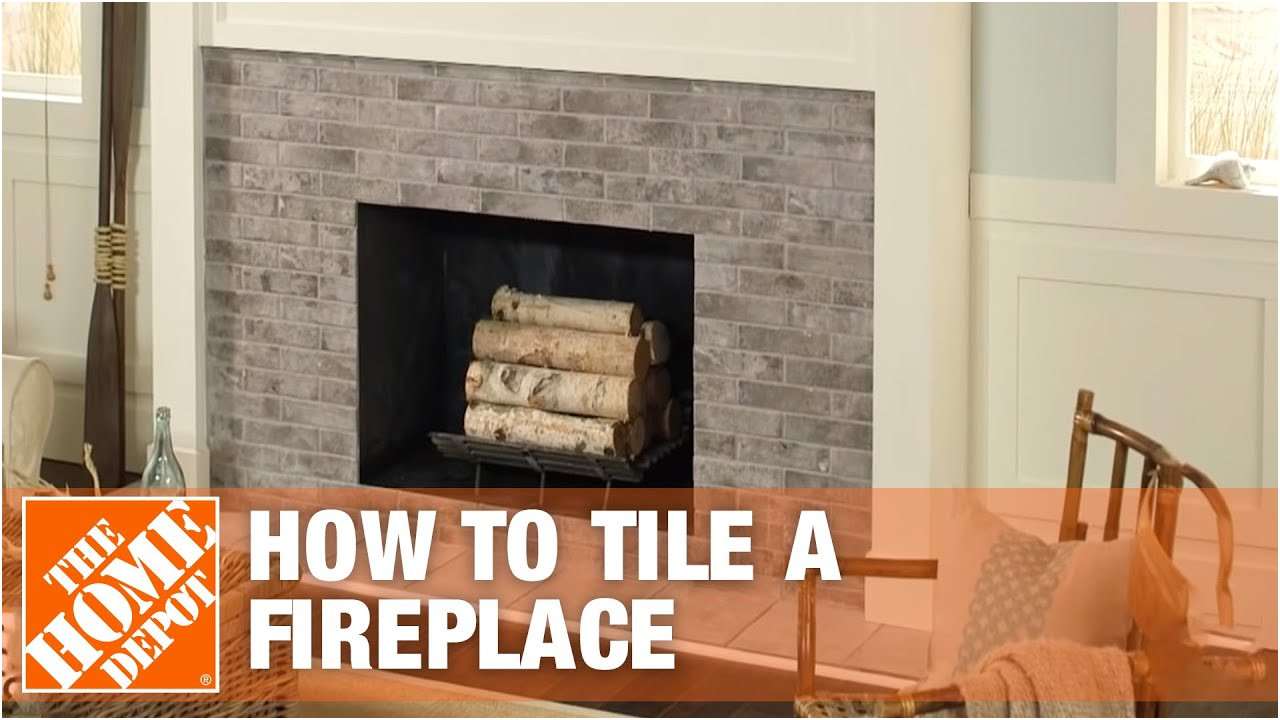 Lovely Fireplace Tile Surround Ideas