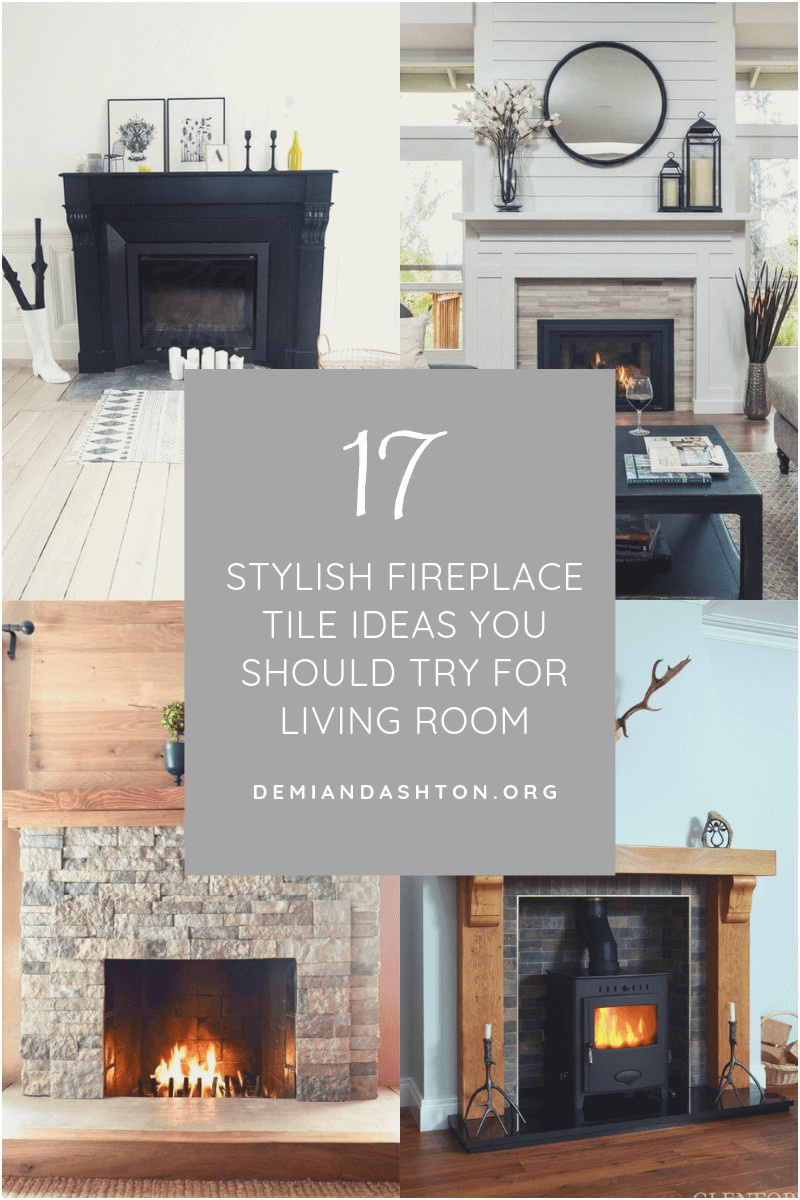 Beautiful Fireplace Tiles Ideas