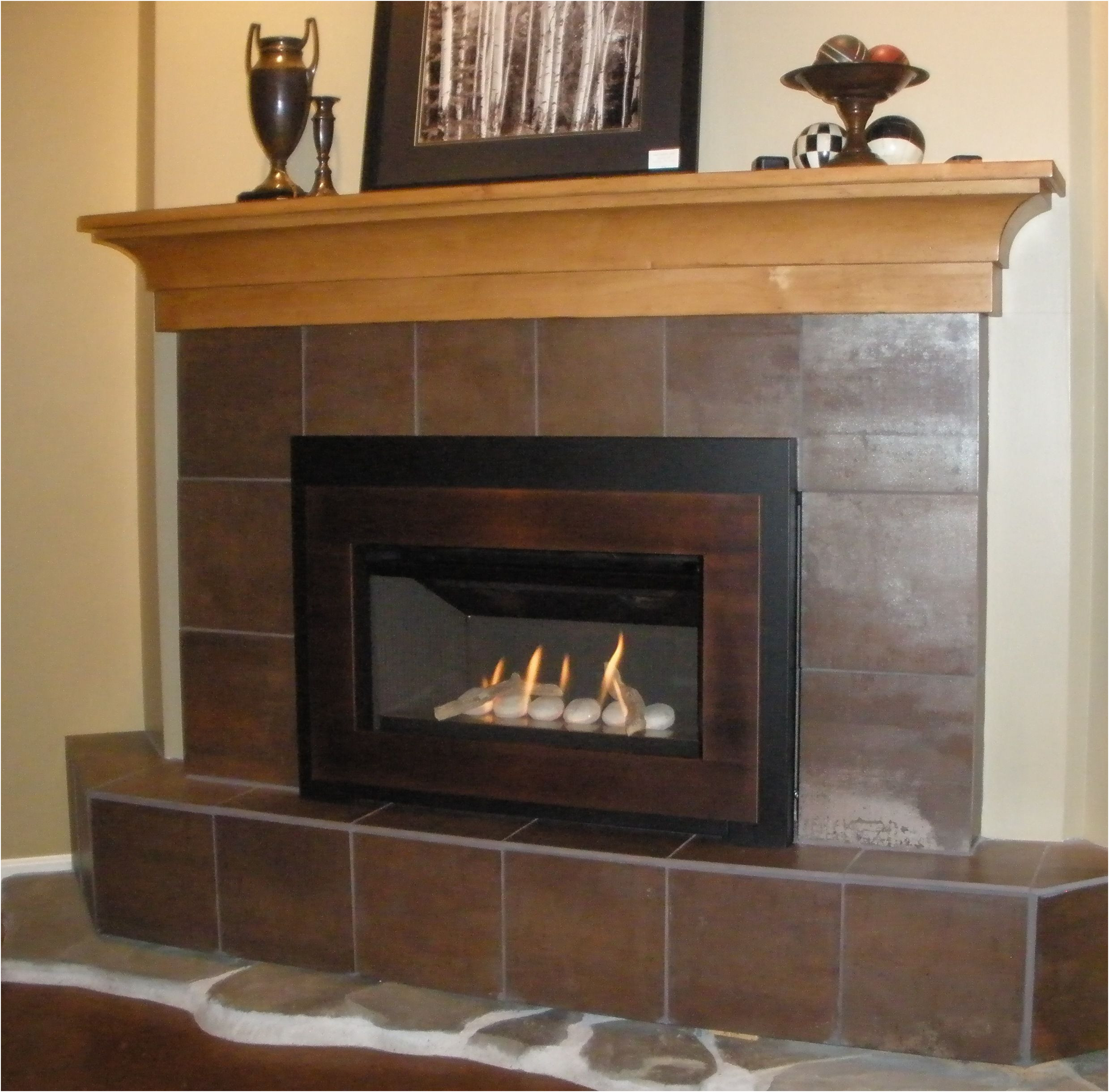 Fresh Gas Fireplace Idea