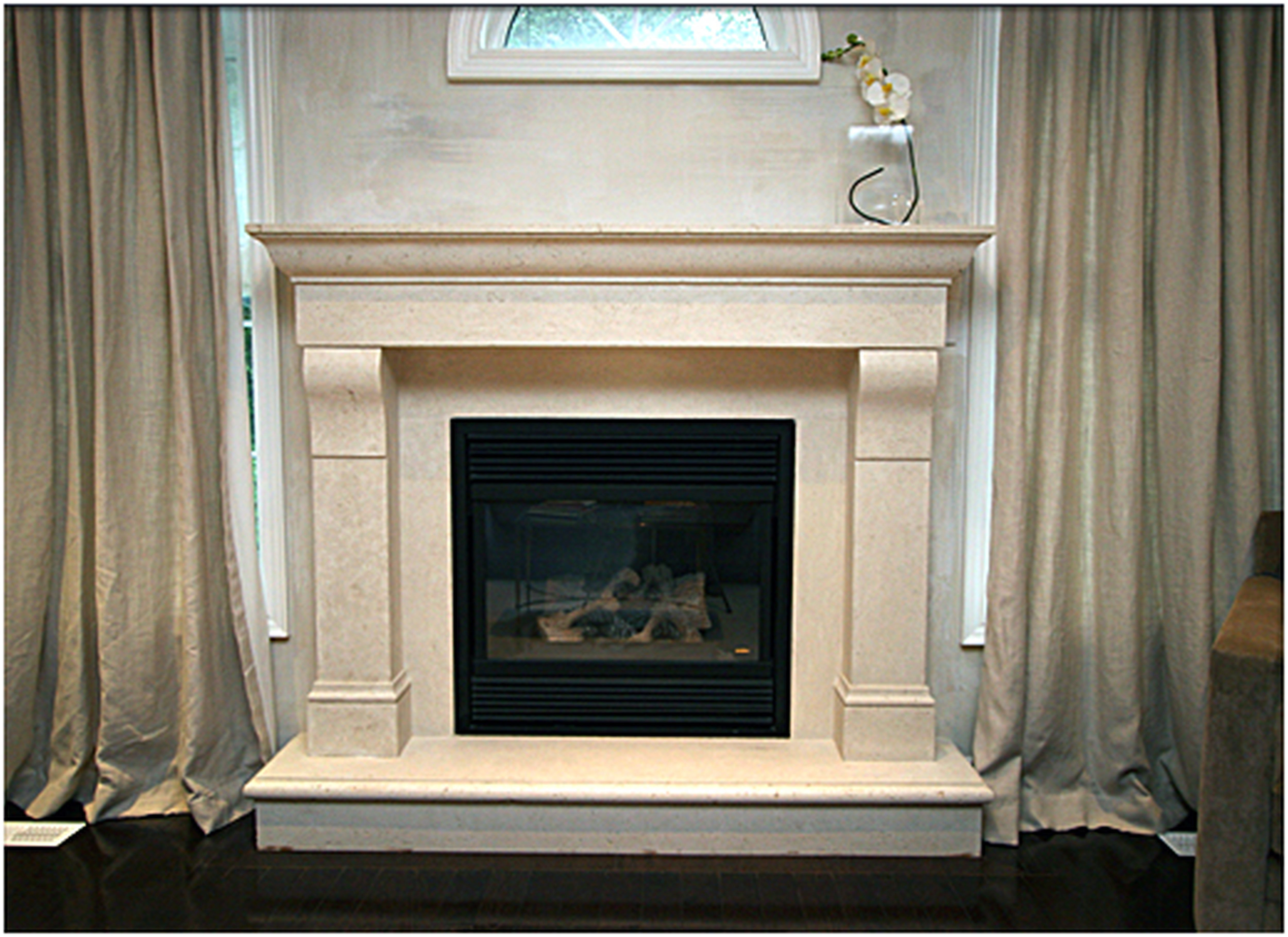 Fresh Gas Fireplace Surround Ideas