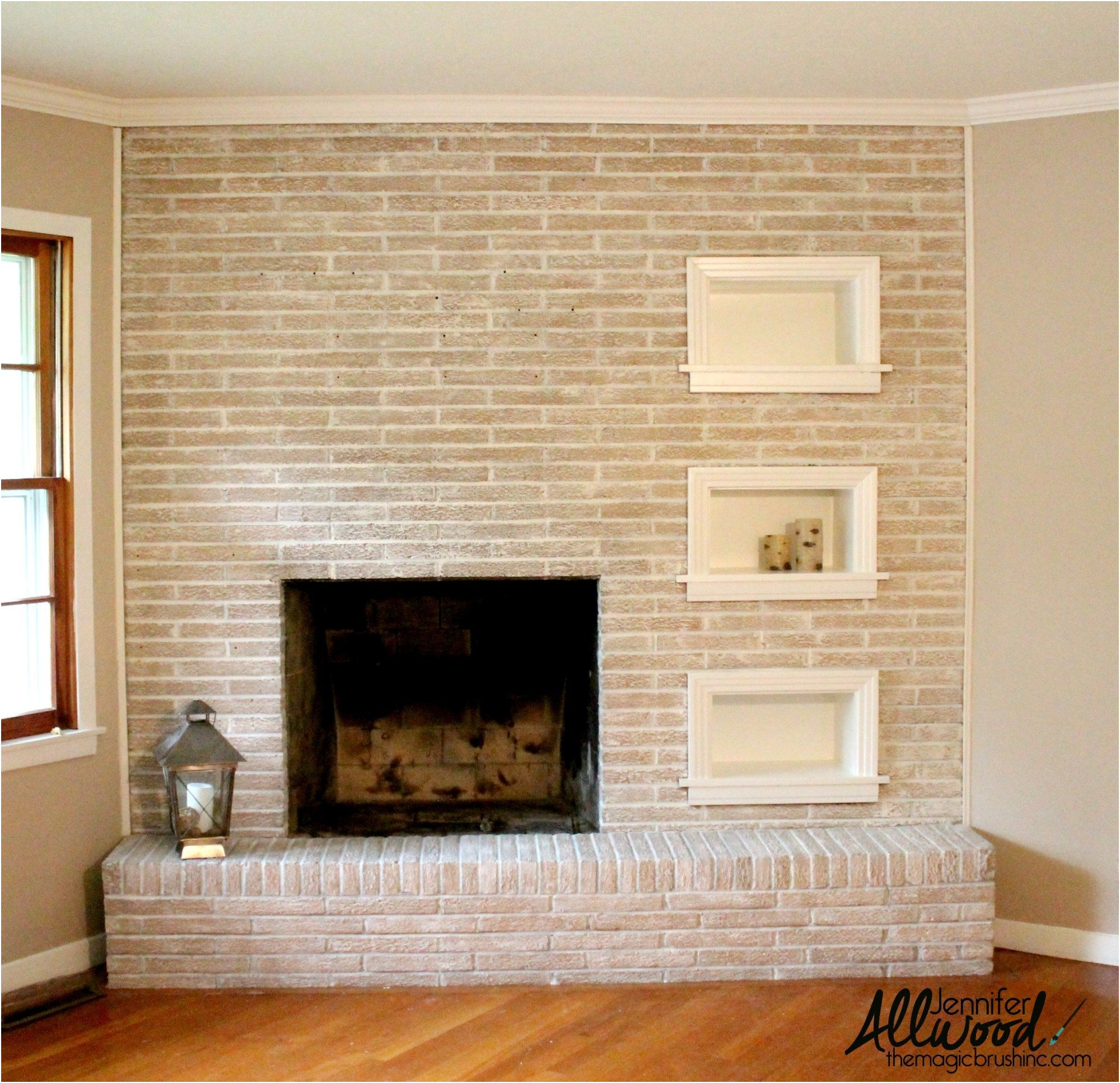 New Ideas for Painting A Brick Fireplace