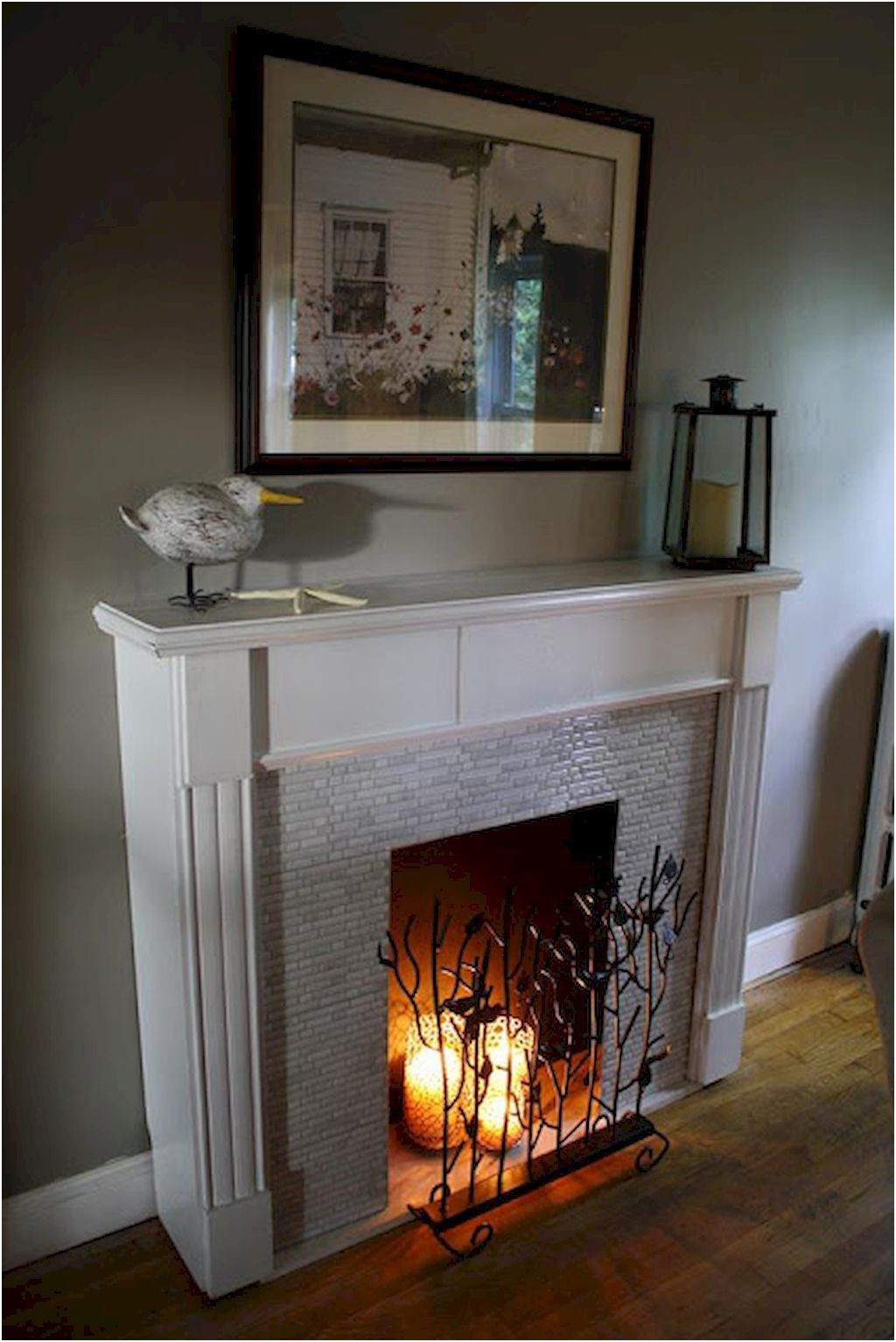 Ideas to Cover Fireplace Unique 70 Gorgeous Apartment Fireplace Decorating Ideas