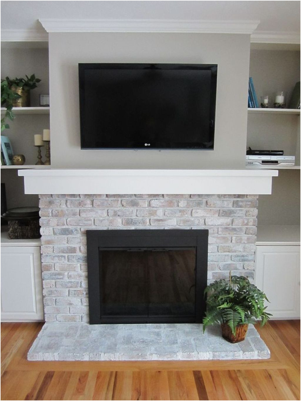 New Ideas to Paint Fireplace