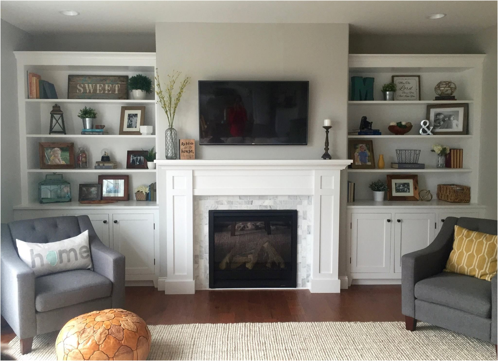 Awesome Living Room Ideas Fireplace