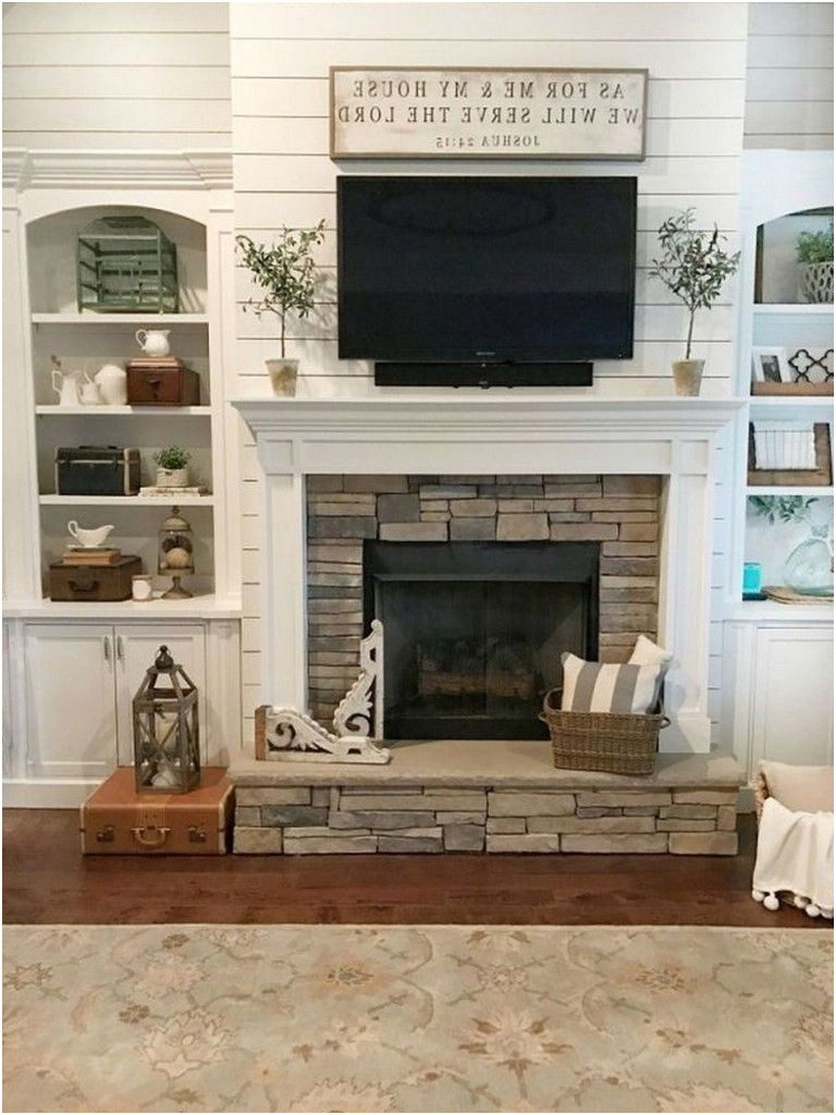 Fresh Living Room with Fireplace Ideas