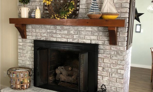 Paint Brick Fireplace Ideas Luxury Painted Brick Fireplace Sw Pure White Over Dark Red Brick