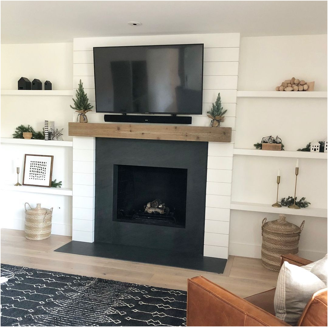 Fresh Paint Ideas for Fireplace