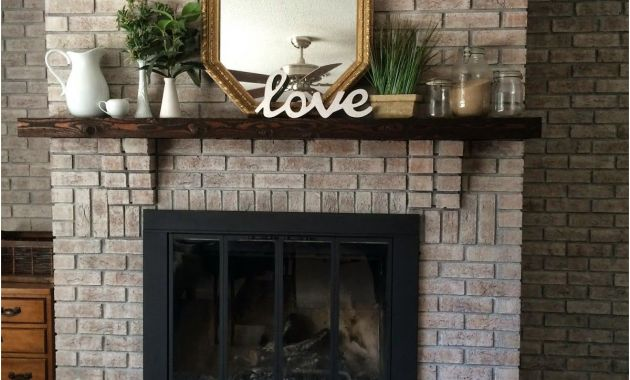 Painting A Brick Fireplace Ideas New White Washing Brick with Gray Beige Walking with Dancers
