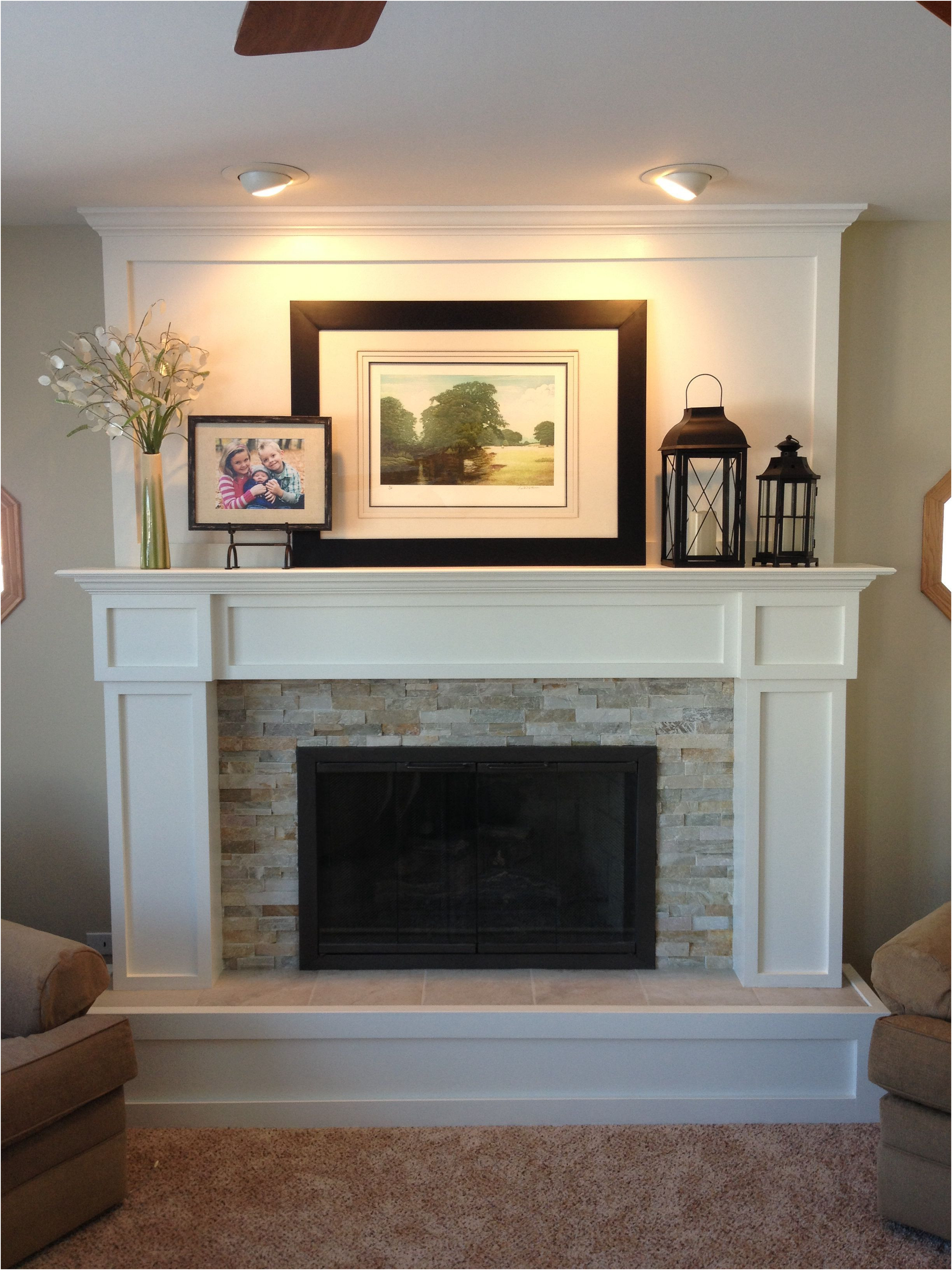 Fresh Remodel A Fireplace