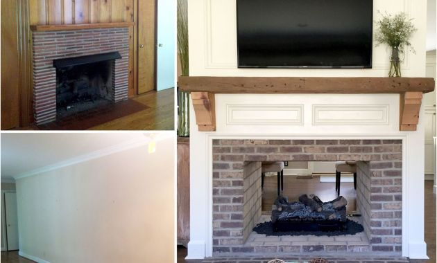 Remodeling Brick Fireplace Best Of Fireplace Renovation Converting A Single Sided Fireplace to