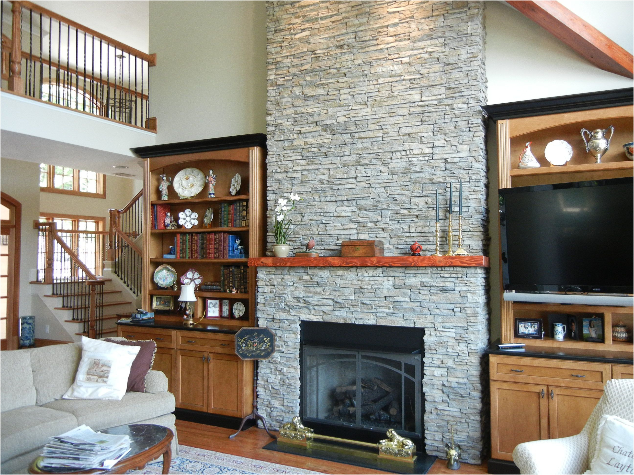 Lovely Remodelling Fireplace